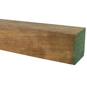Tuinpaal hardhout FSC met punt 140x6,5x6,5 cm