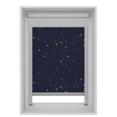 GAMMA dakraam rolgordijn VELUX skylight new generation verduisterend 7006 donkerblauw ster 114x118 cm