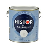 Histor Perfect Finish lak wit zijdeglans 2,5 liter