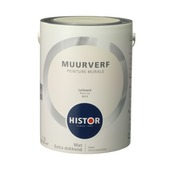 Histor Perfect Finish muurverf leliewit mat 5 liter