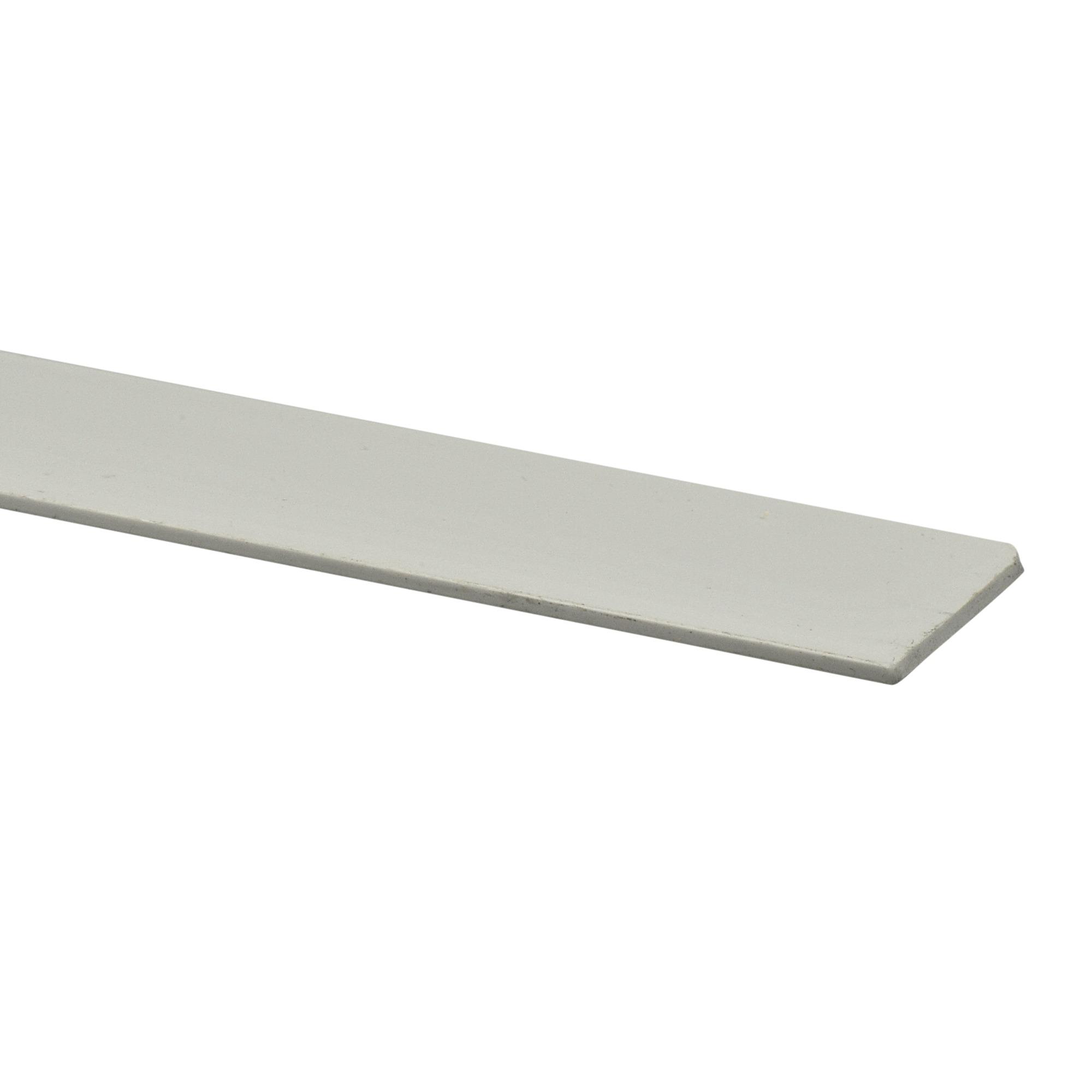 Afdekprofiel kunststof wit 2x30 mm 260 cm kunststof for Aanrechtblad karwei