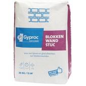 Gyproc blokkenwand stuc 20 kg