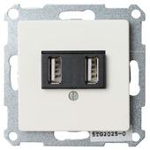 Siemens Delta-L wandcontactdoos wit