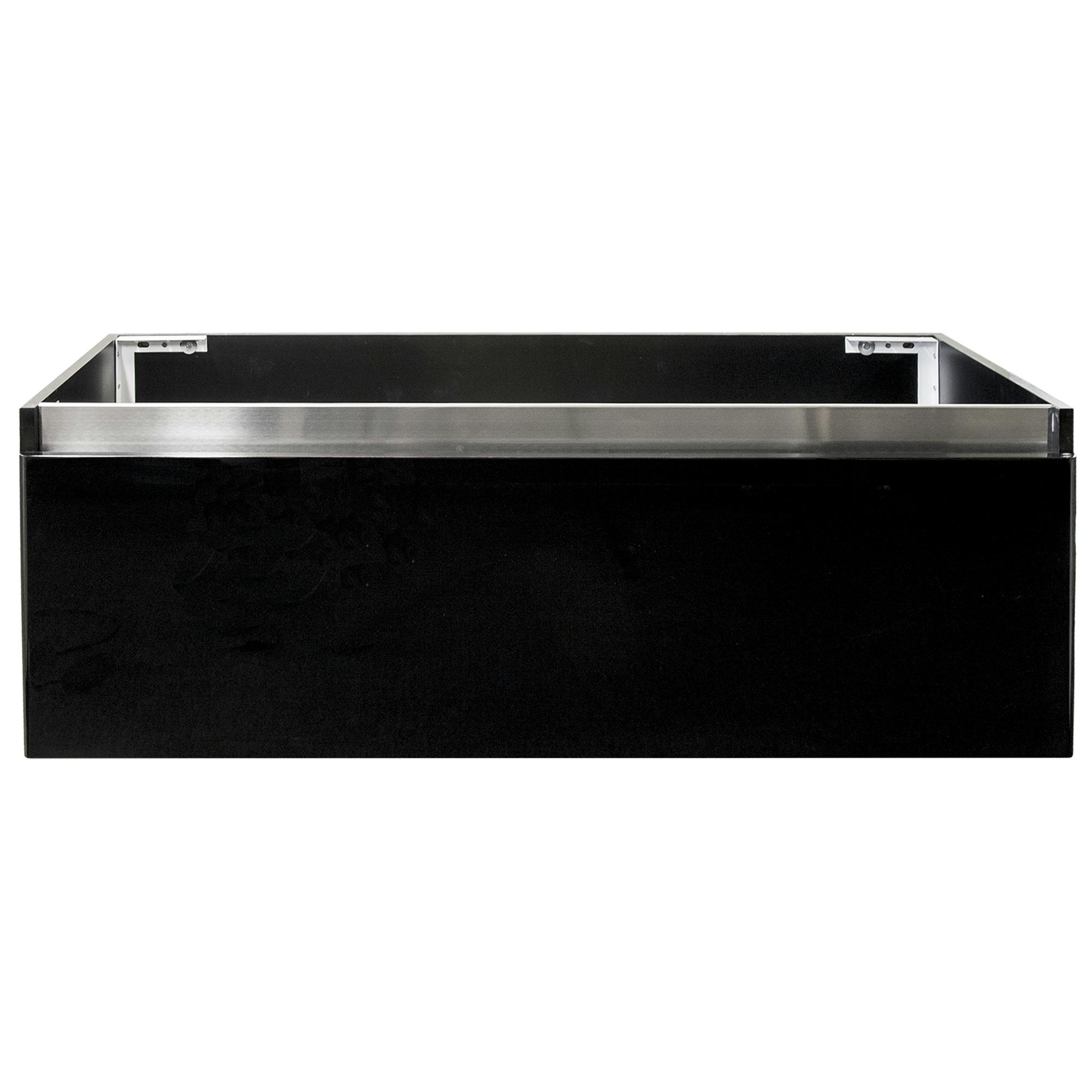 stripe onderkast hoogglans zwart 120 cm | badkamermeubelen, Badkamer