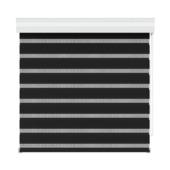 GAMMA roljaloezie lichtdoorlatend 4304 zwart 150x210 cm