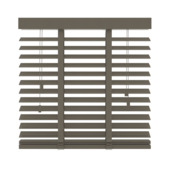 GAMMA horizontale jaloezie hout 50 mm 946 taupe 180x220 cm