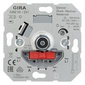 Gira ST55 inbouw dimmer LED/gloei/halogeen
