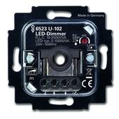 Busch-Jaeger Reflex SI inbouw dimmer LED/gloei/halogeen dimmer 2-100 watt