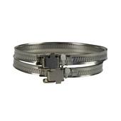IVC Air slangklem aluminium Ø 50-165 mm 2 stuks