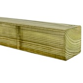 Tuinpaal geschaafd zachthout 240x6,8x6,8 cm