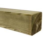 Tuinpaal geschaafd zachthout 270x8,8x8,8 cm