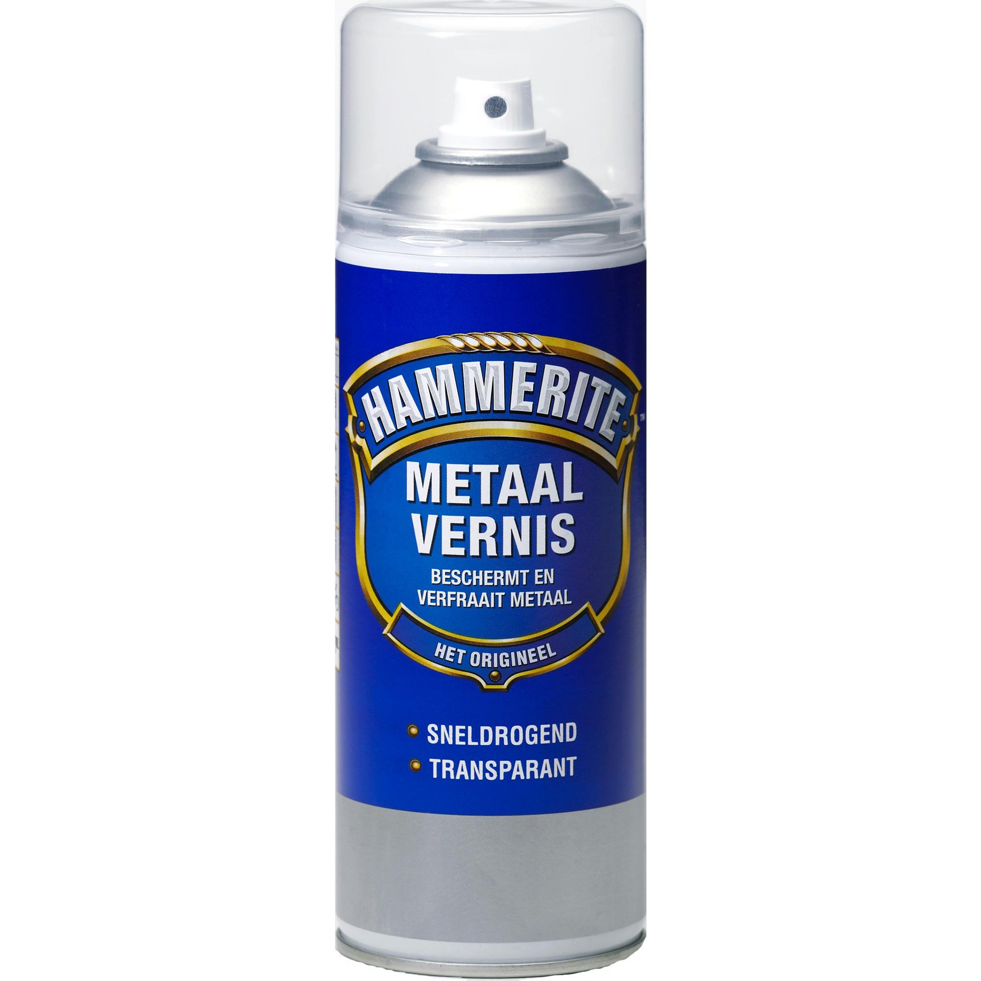 Hammerite metaalvernis transparant hoogglans 400 ml ...