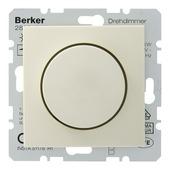 Berker S.1 dimmer met drukknop crème