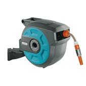 Gardena wandslangenbox roll-up automatic 8022 blauw 15 meter
