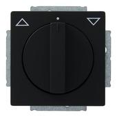 Busch-Jaeger Future Linear jaloezieschakelaar zwart
