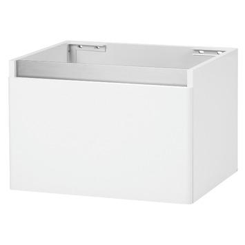 stripe onderkast hoogglans wit 60 cm | badkamermeubelen | badkamer, Badkamer